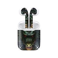 Miếng dán skin chống bẩn cho tai nghe AirPods in hình Dragon Ball - 7vnr030 (bản không dây 1 và 2)