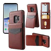 Bao da Samsung Galaxy S10, S10E, S10Plus, S9, S9plus, Note 9 kiêm ví đựng tiền, thẻ, card rất tiện lợi
