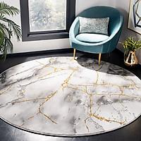 Thảm tròn phòng ngủ
