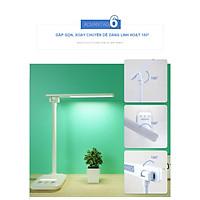Đèn bàn H118  thiết kế mới  03 Chế Độ Ánh Sáng Vàng Bảo Vệ Mắt Chống Cận Có Chế Độ Đèn Ngủ