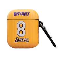 Bao case tai nghe Apple Airpods 1 / 2 hiệu HOTCASE Lakers Bryant chống sốc, chống vân tay, chống bám bẩn - Hàng nhập khẩu