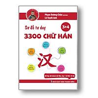 Sách - Sơ Đồ Tư Duy 3300 Chữ Hán tập 34 - Học Từ Vựng Tiếng Trung Qua Hình Ảnh Và Sơ Đồ - Phạm Dương Châu - Kèm Adio Chuẩn Giọng Người Bản Xứ