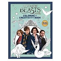 Sách tô màu Fantatsic Beasts Colouring and Creativity Bk