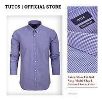Áo sơ mi Slim Fit Shirt Blamor form ôm chất liệu lụa cao cấp hàng vnxk_ASM1067