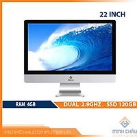 Bộ PC All in ONE (AIO) MCC2041 Home Office Computer CPU Dual 2.9Ghz/ Ram4G/ SSD120G/ Wifi/ Camera/ 22inch - Chính Hãng