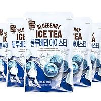Combo 05 túi ICE TEA Việt Quất - Ice Tea Blueberry Nokchawon