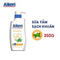 Aiken Sữa Tắm Sạch Khuẩn Chiết Xuất Bạc Hà 350g