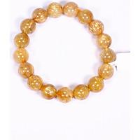 Vòng tay đá thạch anh tóc vàng AAA mệnh thủy, kim - Ngọc Quý Gemstones