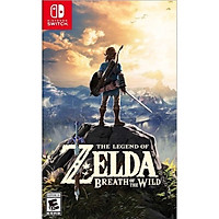 Đĩa Game Nintendo Switch - The Legend of Zelda: Breath of the Wild Nguyên Seal Hệ US - Hàng Chính Hãng