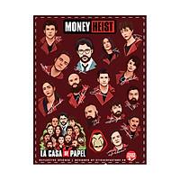 14 Characters Money Heist - Reflective Sticker hình dán phản quang 3M Premium