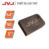 USB 64Gb/32Gb/16Gb 2.0 JVJ FLASH S2 siêu nhỏ vỏ kim loại -  tốc độ 100MB/s chống nước chống nhiệt - Hàng Chính Hãng