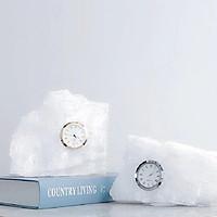 Đồng hồ để bàn hình tảng băng độc đáo