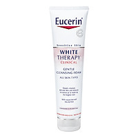 Sữa Rửa Mặt Tạo Bọt Trắng Da Eucerin White Therapy Clinical Gentle Cleansing Foam (150g)