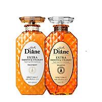 Bộ dầu gội& xả vào nếp thẳng mượt Moist Diane Extra Straight (450ml*2)