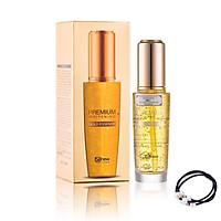 Serum vàng cao cấp 24k - Benew Premium Whitening Gold Essence 50ml [ Tặng dây cột tóc - màu ngẫu nhiên ]