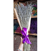 Bó hoa khô hoa lavender 130g  tặng kèm túi thơm A01