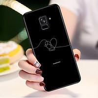 Ốp điện thoại dành cho máy Samsung Galaxy A8 Plus - Tôi Yêu B.T.S MS TYBTS004