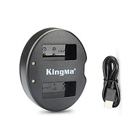 Sạc pin đôi cổng usb KingMa LP-E17 - Hàng Nhập Khẩu