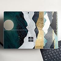 Skin dán hình giả sơn mài cho Surface Go, Pro 2, Pro 3, Pro 4, Pro 5, Pro 6, Pro 7, Pro X