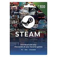 Thẻ Steam 100 USD - Hàng Chính Hãng