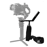 Df Digitalfoto Terminator-Air2 Versatile Handle With Hand Release Strap For Moza Air 2 For Zhiyun Crane 2 Gimbal - Black