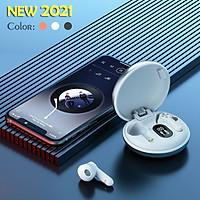 Tai nghe Bluetooth 5.0 TWS Không dây Nhét tai Màn hình Kỹ thuật số Model mới 2021 AMA H7 Hàng nhập khẩu