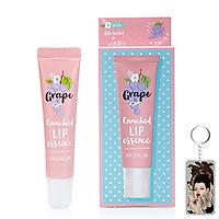 Son dưỡng thâm môi Around Me Enriched Lip Essence Hàn Quốc 8.7g (Hương nho) + Móc khóa