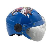 Mũ Bảo Hiểm Trẻ Em Nửa Đầu Có Kính Chita CT25K Siêu Nhân
