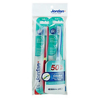 Bộ 2 Bàn Chải Đánh Răng Jordan Click Gum Protector - 100549020 - 9555019001445