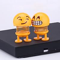 Thú nhún lò xo Emoji ngộ nghĩnh 6 biểu cảm