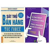 Combo 2 Cuốn: Sát Thủ Bán Hàng + Content Marketing Trong Kỷ Nguyên Trải Nghiệm Khách Hàng