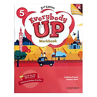 Everybody Up (2E) 5 Workbook With DVD And Online Practice Pack