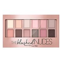 Bảng Phấn Mắt Tông Màu Hồng Nudes Maybelline New York The Nudes Palette 12 Màu 9g
