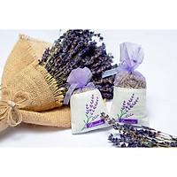Túi Thơm Nụ Hoa Khô Oải Hương Lavender Khử Mùi, Giảm Căng Thẳng, Cho Giấc Ngủ Ngon