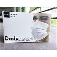 Khẩu Trang Y Tế Dada Mask 4 Lớp - Hộp 50 cái (DC402) - Giao Màu Ngẫu Nhiên