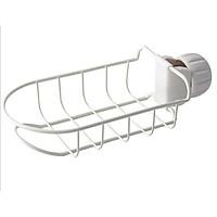 Rổ treo vòi nước rửa chén, vòi nước phòng tắm, khung sắt siêu chắc chắn
