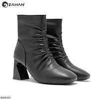 Boots nữ, 7cm, mũi vuông, nhún BOOTS23