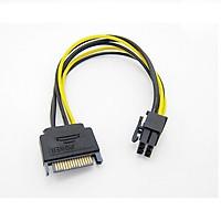 Cáp nguồn ổ cứng sang cáp nguồn VGA 6 pin