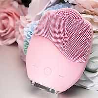 Máy rửa mặt và masage da mặt rung sóng âm ion Blingbelle BS024 - Hàng nhập khẩu
