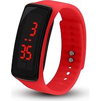 Digital Watch Watch Adjustable Silicone Wrist Sport LED