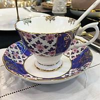 Bộ chén trà 1 người màu xanh