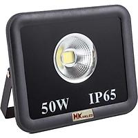 Đèn pha LED ngoài trời HKLED tròn 50W - IP65