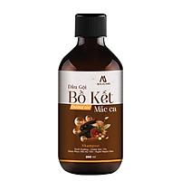 Dầu gội Bồ Kết dưỡng tóc chiết xuất dầu Macadamia 300ml MACALAND dùng cho mọi loại tóc công dụng cung cấp dưỡng chất từ gốc tới ngọn, giảm rụng giảm gàu giảm chẻ ngọn hàng công ty chính hãng, xuất xứ Việt Nam