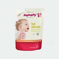 Túi Bổ Sung Bọt Tắm Gội Thiên Nhiên Mamamy an toàn cho bé Hương Floral 200ml