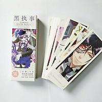 Bookmark Anime Hắc Quản Gia hộp 36 tấm