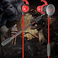Tai nghe nhét tai chuyên game có mic Gatka V7- Hàng chính hãng