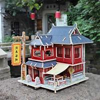 Đồ chơi lắp ráp gỗ 3D Mô hình Nhà Khách Trung Quốc F128