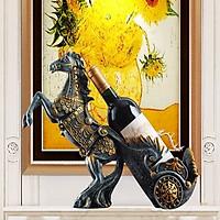 Tượng ngựa phi đựng rượu - NPR01