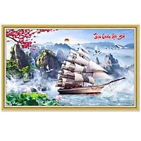 Decal phong thủy Thuận buồm xuôi gió NewTM-0115K