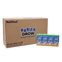 Thùng 48 Hộp x 180ml Sữa Bột Pha Sẵn NuVita Grow 180ml Phát Triển Chiều Cao - Hàng Chính Hãng - NutiFood NuVita Grow 180